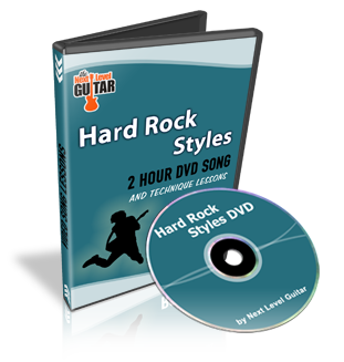 next level guitar hard rock styles 2 hour dvd. Black Bedroom Furniture Sets. Home Design Ideas