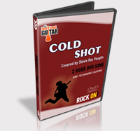 how to play cold shot solo on guitar